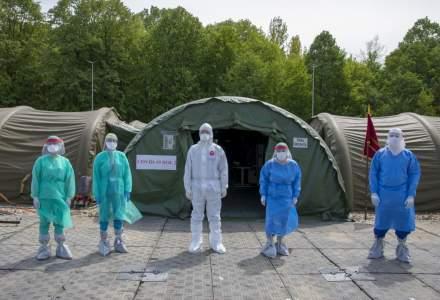 Spitalul Militar ROL 2 a fost resuscitat. Armata reia internările de pacienţi COVID-19 la spitalul modular instalat lângă Bucureşti