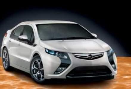 Modelul electric Opel Ampera este disponibil la rent-a-car. Afla cat costa