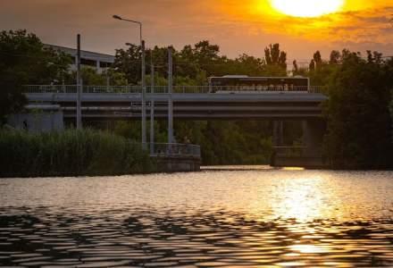 Gabriela Firea se laudă cu reabilitarea Podului Străulești, după un an de lucrări