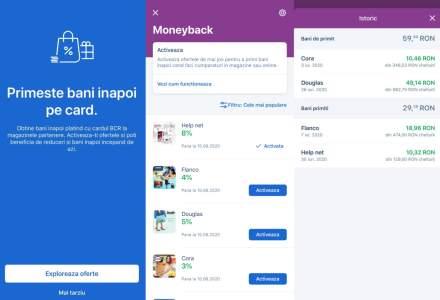 BCR lansează George Moneyback: cum funcționează soluția