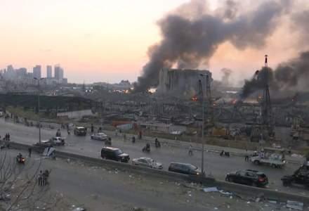 UPDATE: Cel puţin zece morţi în explozia puternică din Beirut