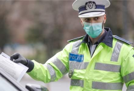 Coronavirus | Poliția a dat aproape 1.000 de amenzi într-o zi