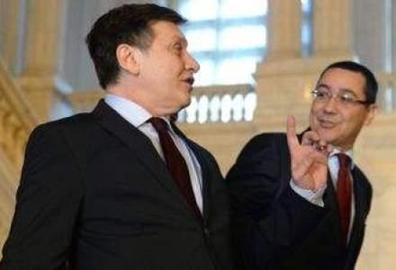 Ponta: Antonescu este tot un fel de Basescu. E foarte conflictual