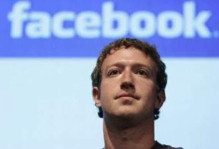 Zuckerberg vinde actiuni Facebook in valoare de 2,3 miliarde de dolari