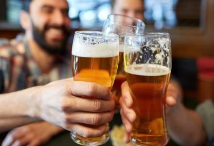 Scădere de peste 7% în piața românească de bere