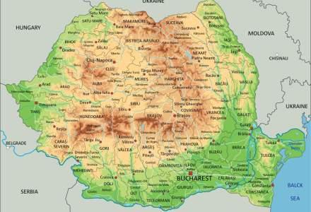 Harta zonelor din țară, unde masca de protecție este obligatorie