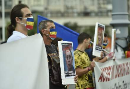 Proteste simultane în Piaţa Victoriei - doi ani de la evenimentele din 10 august; scandări împotriva măsurilor anti-COVID-19