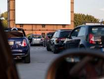 Cinema drive-in la Sibiu....
