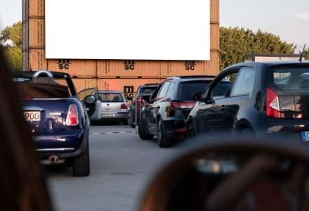 Cinema drive-in la Sibiu. Prima proiecție, un film despre artă stradală