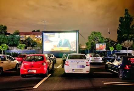 Festivalul de filme drive-in din parcările magazinelor Kaufland ajunge pe litoral din acest weekend