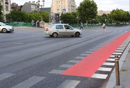 Aproximativ 7 km de piste noi de biciclete sunt aproape gata în București