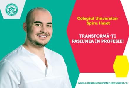 (P) Asistent medical, cea mai solicitată specializare a Colegiului Universitar Spiru Haret