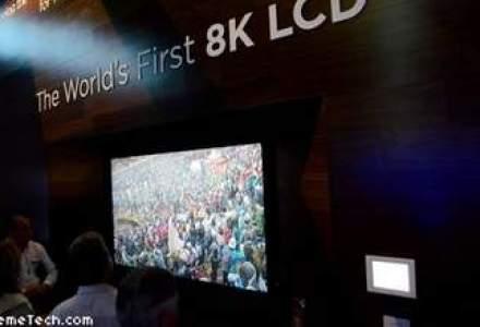 CES 2014: Japonezii de la Sharp au prezentat primul televizor din lume cu rezolutie 8K