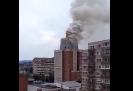 NEWS ALERT | Incendiu violent la Reșița