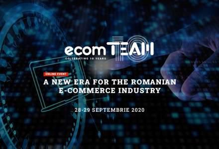 ecomTEAM 2020: Află ultimele trenduri din comerțul online de la specialiștii din industrie