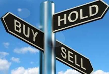 Bursa inchide cu cel mai mare rulaj din ultima luna