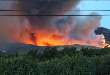 VIDEO Incendii devastatoare în California