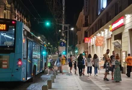 Piste noi de biciclete, pe trotuare, în București