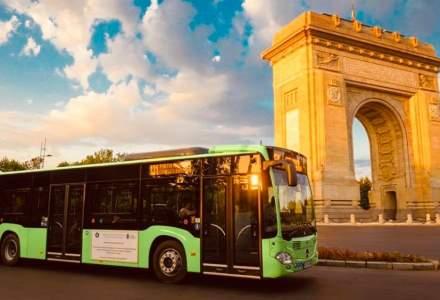 Gabriela Firea anunță că alte 30 de autobuze hibrid vor circula în București