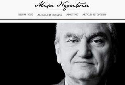Revista blogurilor de business. Negritoiu: Am supravietuit primei crize din istoria Romaniei capitaliste