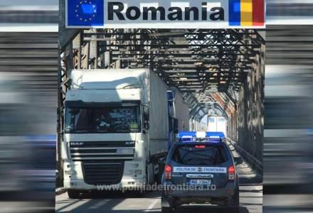 ATENȚIE! Lucrări de asfaltare pe drumul care duce la Punctul de Trecere a Frontierei Giurgiu – Ruse