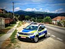 Mașinile Poliției Române, cu...