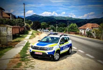 Mașinile Poliției Române, cu un design nou, pentru a fi mai vizibile și a se diferenția de Poliția Locală