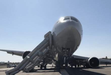 Accident aviatic pe aeroportul Băneasa. Un Boeing cu 84 de pasageri, evacuat de urgență