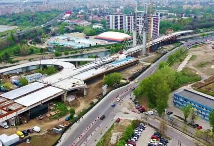 Gabriela Firea: Podul Ciurel va fi dat în folosință până la începerea școlii