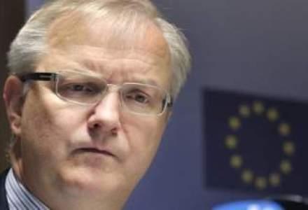 Rehn: Usa Uniunii Europene este deschisa pentru investitii din China