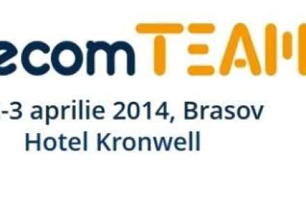ecomTEAM, cel mai mare eveniment regional de comert electronic, are loc pe 2-3 aprile, la Brasov