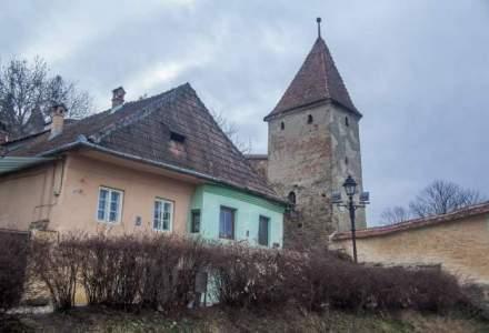Turnul si Bastionul Macelarilor din Sighisoara, restaurate de Printul Charles si Liviu Tudor