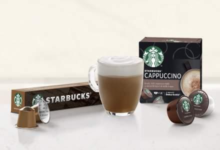 Nestlé lansează pe piața de cafea din România noua gamă de produse Starbucks