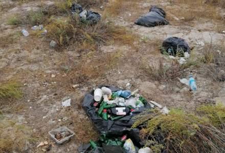 Plajele sălbatice din România, invadate din nou de turiști iresponsabili