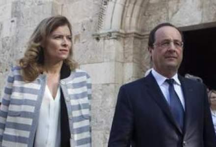 Cuplul prezidential s-a rupt. Hollande anunta incetarea relatiei cu Trierweiler