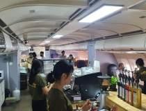 Cafeneaua dintr-un avion...