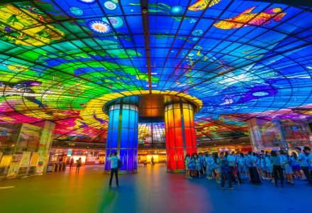 Zece dintre cele mai impresionante stații de metrou din întreaga lume