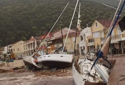 Grecia este lovită de un uragan format în Marea Mediterană