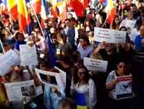 Protest în Piața...