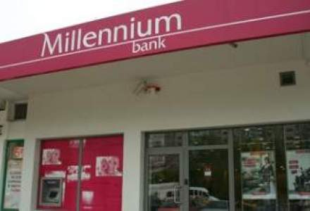 Millennium Bank si-a redus de 4 ori pierderile intr-un an