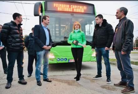 Firea anunță că alte 23 de autobuze hibrid circulă în București