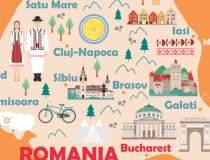 Harta economică a României:...