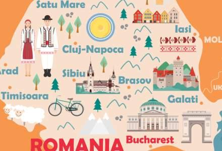 Harta economică a României: care sunt cele mai sărace județe