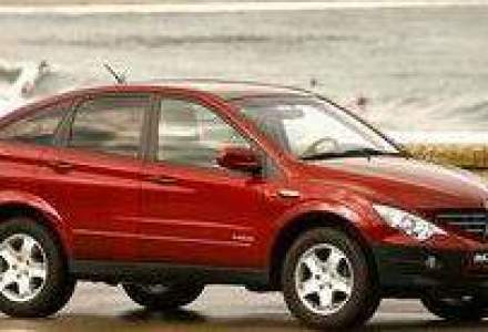 SUV-ul SsangYong Actyon costa de la 14.800 euro fara TVA
