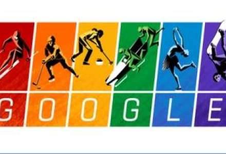 Carta Jocurilor Olimpice de la Soci, sarbatorita de Google printr-un logo special