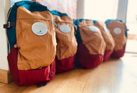 Sanofi Romania donează rechizite și materiale sanitare pentru 70 de copii