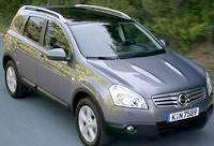 Crossover-ul Nissan Qashqai+2 costa de la 17.857 euro fara TVA