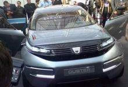 Conceptul Dacia Duster a fost prezentat la Bucuresti