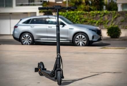 Mercedes-Benz a dezvoltat o trotinetă electrică