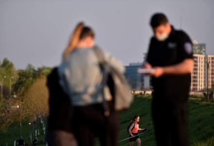 Polițiștii vor patrula în civil pentru a-i amenda pe cei care nu poartă mască